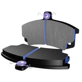 Колодки тормозные дисковые LUCAS MCB682