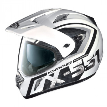 Мотошлем X-Lite X-551 Adventure N-COM 10 White-Black S