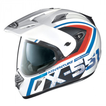 Мотошлем X-Lite X-551 Adventure N-COM 9 White-Red-Blue L