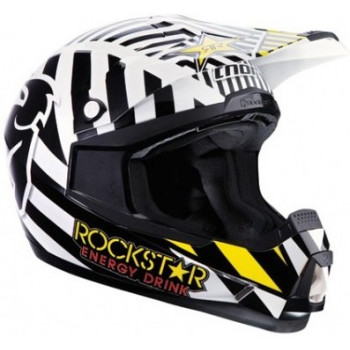Мотошлем Thor S13 Quadrant Rockstar Black-Yellow-White M