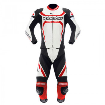 Мотокостюм Alpinestars MOTEGI 2PC Black-Red-White 52