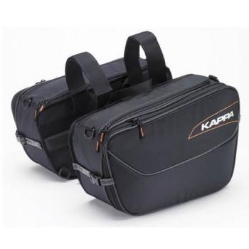 Мотосумки боковые KAPPA LH202 Black (пара)