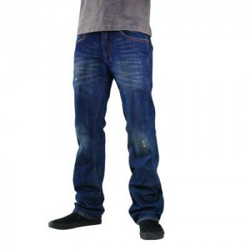 Мотоджинсы FOX Ergocentric Jean - INTL Second Hand Blue 34