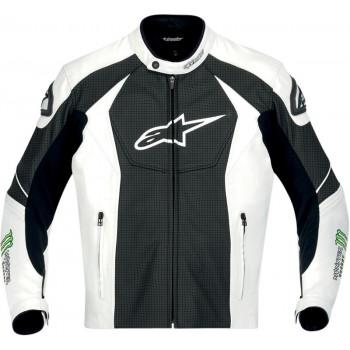 Мотокуртка Alpinestars GP-M Black-White-Green 54