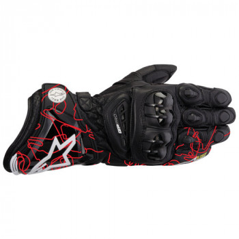 Мотоперчатки Alpinestars GP-PRO Black-Red-Track M