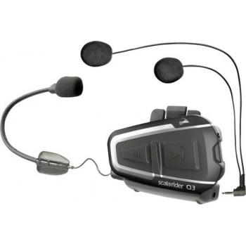 Стереогарнитура на шлем Cardo Scala Rider Q3 MultiSet