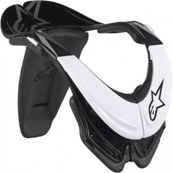 Защита шеи Alpinestars BIONIC White-Black XS
