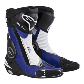 Мотоботы Alpinestars S-MX PLUS Black-Blue-White 45