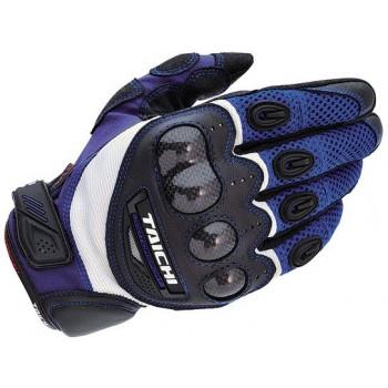 Мотоперчатки RS-Taichi Velocity Mesh Carbon Blue S