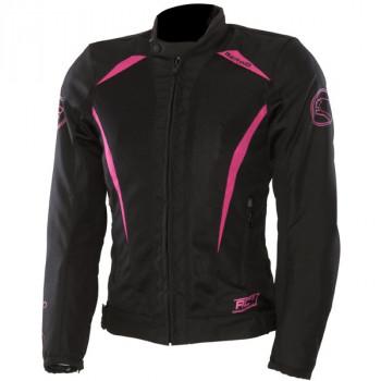 Мотокуртка женская Bering Lady Keers Black-Pink T0