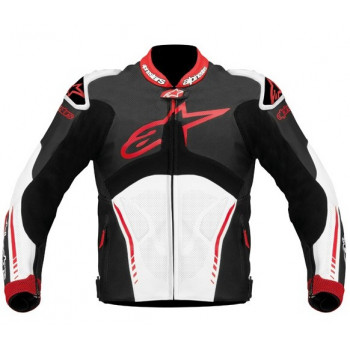 Мотокуртка Alpinestars ATEM Black-White-Red 54