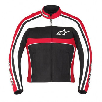 Мотокуртка Alpinestars STELLA T-DYNO Black-Red-White XS
