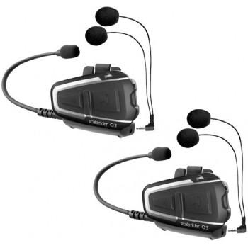 Переговорное Bluetooth устройство Cardo Scala Rider Q3 Multiset (New)
