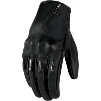 Мотоперчатки Icon Hella Kangaroo SHT Black S