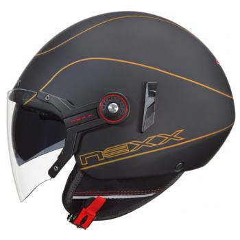 Мотошлем Nexx X60 Mercure Black-Gold M