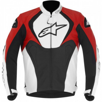 Мотокуртка Alpinestars Jaws Black-White-Red 50