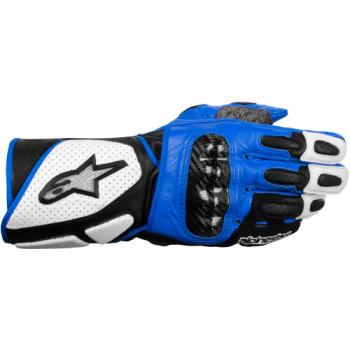 Мотоперчатки Alpinestars SP-2 White-Black-Blue XL