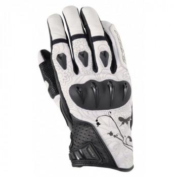 Мотоперчатки женские Ixon RS TATTOO White-Black M