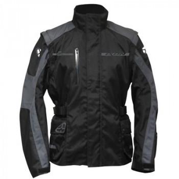Мотокуртка Ixon Technic Black-Grey 2XL