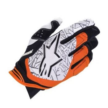 Мотоперчатки Alpinestars Charger Black-Orange XL