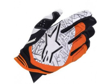 alpinestars Мотоперчатки Alpinestars Charger Black-Orange XL