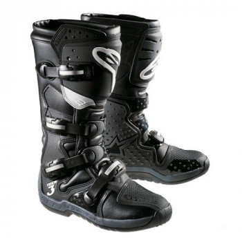 Мотоботы Alpinestars Tech 3 Black 8.0