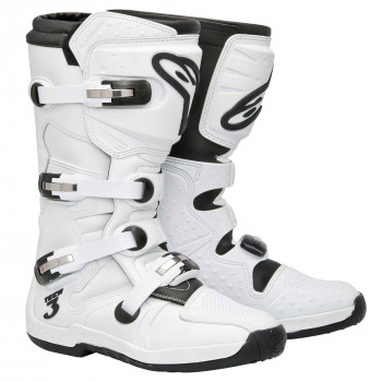 Мотоботы Alpinestars Tech 3 Super White 9.0