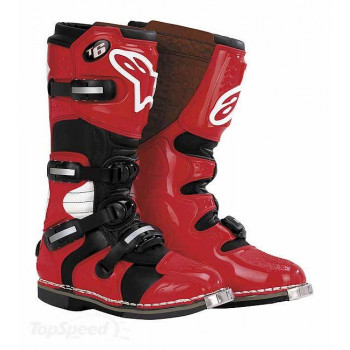 Мотоботы Alpinestars Tech 6 Red 5.0
