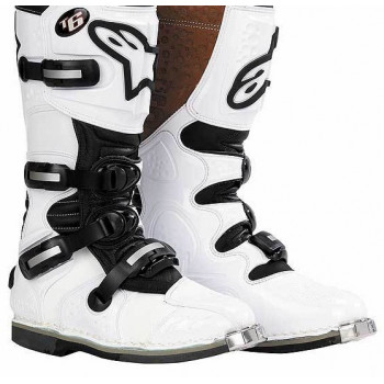 Мотоботы Alpinestars Tech 6 White 8.0