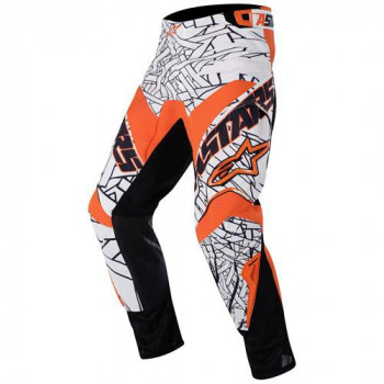 Мотоштаны Alpinestars Charger (3721211) White-Orange 32