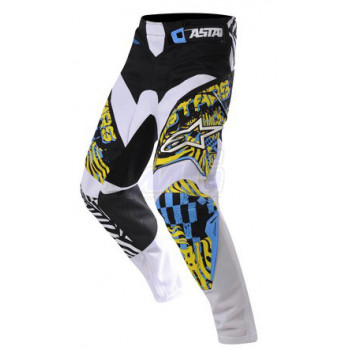 Мотоштаны Alpinestars Charger (3721212) Yelllow-Cyan-Black 30