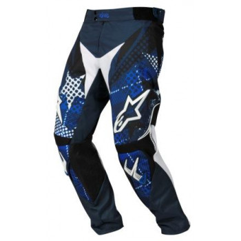 Мотоштаны Alpinestars Charger Punk White-Blue 30