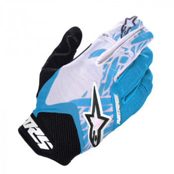 Мотоперчатки Alpinestars Racer Black-Blue-White XL