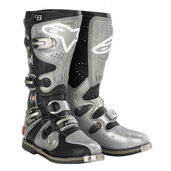 Мотоботы Alpinestars TECH 8 Black-Silver 11.0