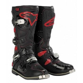 Мотоботы Alpinestars TECH 8 Black-Red 10.0
