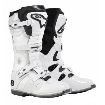 Мотоботы Alpinestars TECH 8 White 10.0