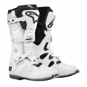 Мотоботы Alpinestars TECH 8 White 11.0
