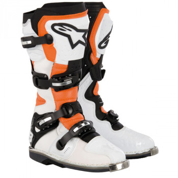 Мотоботы Alpinestars TECH 8 White-Black 10.0