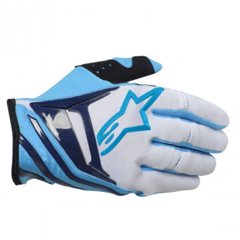 Мотоперчатки Alpinestars Techstar White-Blue XL
