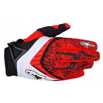 Мотоперчатки Alpinestars Techstar Black-Red XL