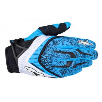 Мотоперчатки Alpinestars Techstar Black-Blue XL