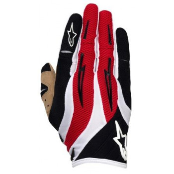 Мотоперчатки Alpinestars Techstar Black-White-Red S