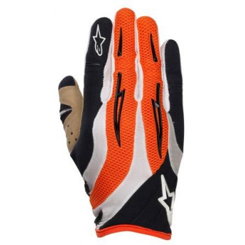 Мотоперчатки Alpinestars Techstar Black-White-Orange S