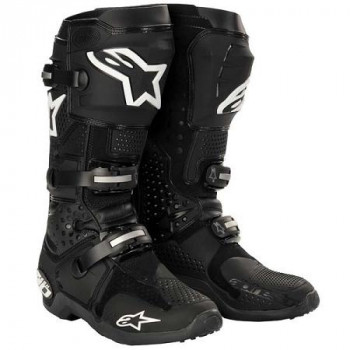 Мотоботы Alpinestars TECH 10 Black 8.0