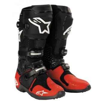 Мотоботы Alpinestars TECH 10 Black-Red 8