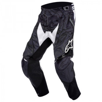 Мотоштаны Alpinestars Techstar Black-White 28
