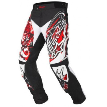 Мотоштаны Alpinestars Charger Crusader Black-Red-White 38