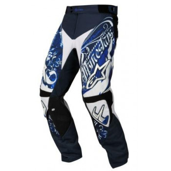 Мотоштаны Alpinestars Charger Crusader Black-Blue-White 38
