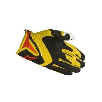 Мотоперчатки Alpinestars Dual Black-Yellow XL