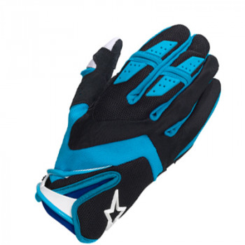 Мотоперчатки Alpinestars Dual Black-Blue XL